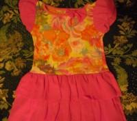 Платье в идеальном состоянии. Носили очень мало. Длина 47 см., обхват груди 54 с. Каменское, Днепропетровская область. фото 2