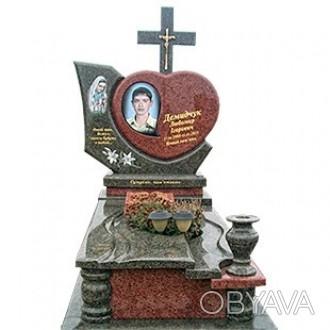 Изготавливаем памятники из гранита от производителя,без посредников!Широкий ассо. Коростышев, Житомирская область. фото 1
