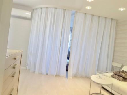 Долгосрочная аренда 1-комнатной квартиры с дизайнерским ремонтом в элитном ЖК «Г. Голосеево, Киев, Киевская область. фото 8