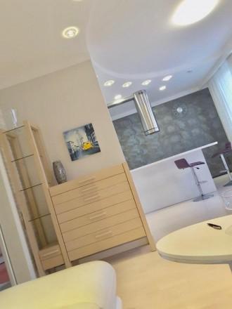 Долгосрочная аренда 1-комнатной квартиры с дизайнерским ремонтом в элитном ЖК «Г. Голосеево, Киев, Киевская область. фото 3