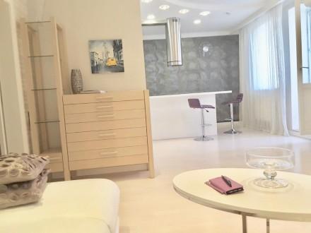 Долгосрочная аренда 1-комнатной квартиры с дизайнерским ремонтом в элитном ЖК «Г. Голосеево, Киев, Киевская область. фото 5