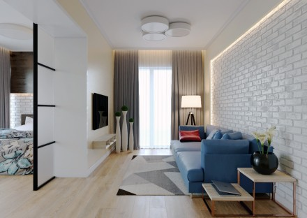 Цена снижена на 1000$. Квартира в ЖК Бест Хаус. 4 секция, 4 этаж, 78 м2. Лучшая . Победа, Днепр, Днепропетровская область. фото 5