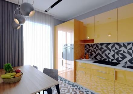 Цена снижена на 1000$. Квартира в ЖК Бест Хаус. 4 секция, 4 этаж, 78 м2. Лучшая . Победа, Днепр, Днепропетровская область. фото 7