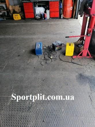 Резиновая плитка для гаража Наша компания производит резиновую плитку для гараж. Бровары, Киевская область. фото 3