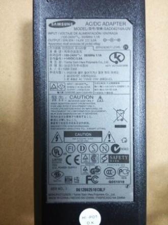 Сетевой адаптер монитора Samsung BN44-00131A 14V, 3A, 6.5-4.4мм с иглой в центр. Харьков, Харьковская область. фото 3