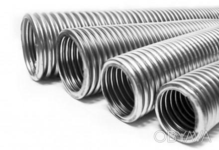 Гофрированная труба из нержавеющей стали имеет широкое применение не только в но. Харьков, Харьковская область. фото 1