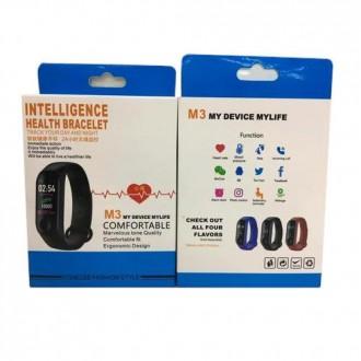 Фитнес-браслет intelligence health bracelet M3 Оснащен OLED дисплеем и имеет се. Переяслав-Хмельницкий, Киевская область. фото 5