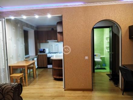 Центр! Сдам Шикарную 1 комнатную квартиру в р-не Градецкого.  Квартира оборудо. Чернигов, Черниговская область. фото 2