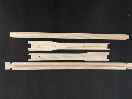 рамки для ульев дадан 300 мм рамки для пчел. Каменец-Подольский. фото 1