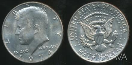 50 центов 1974 Half Dollar. США.