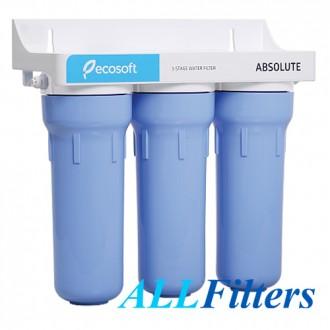 Проточный фильтр Ecosoft Absolute  Тройной фильтр Ecosoft Absolute проточного . Киев, Киевская область. фото 3
