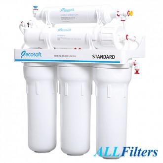 Фильтр Ecosoft Standard RO 5-50 предназначен для очистки воды на молекулярном ур. Киев, Киевская область. фото 3