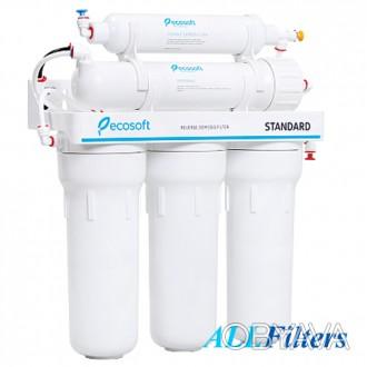 Фильтр Ecosoft Standard RO 5-50 предназначен для очистки воды на молекулярном ур. Киев, Киевская область. фото 1