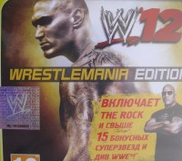W 12 WrestleMania  PS 3. Киев. фото 1
