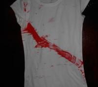 Белая футболка на 6-7 лет. в отличном состоянии,CLASSG замеры;длина-53см.,  ш.п. Киев, Киевская область. фото 2