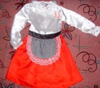 карнавальное платье для девочки. б/у. состояние хорошее. перешлю.. Суми, Сумська область. фото 5