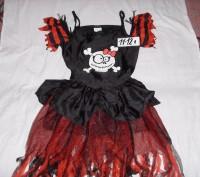 карнавальное платье для девочки. б/у. состояние хорошее. перешлю.. Суми, Сумська область. фото 4