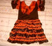карнавальное платье для девочки. б/у. состояние хорошее. перешлю.. Суми, Сумська область. фото 8