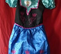 Продам платье Анны Фроузен Disney . Состояние нового. Длина от плеча 60 см, ш. Черкассы, Черкасская область. фото 2