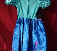 Продам платье Анны Фроузен Disney . Состояние нового. Длина от плеча 60 см, ш. Черкассы, Черкасская область. фото 4