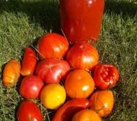 Продам домашний томатный сок (морс) 2016г.. Северодонецк. фото 1
