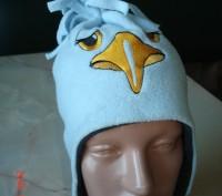 Очень симпатичная теплая шапочка для малыша.  Окружность 44 см.. Черкассы, Черкасская область. фото 2
