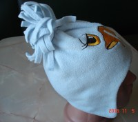 Очень симпатичная теплая шапочка для малыша.  Окружность 44 см.. Черкассы, Черкасская область. фото 3
