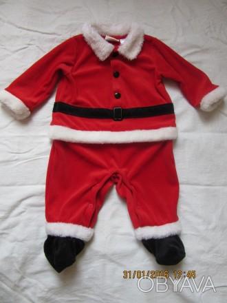 костюм в гарному стані, на 3-6 місяців розмір: 50 56 62 68 74 Від плеча до пят. Козельщина, Полтавская область. фото 1