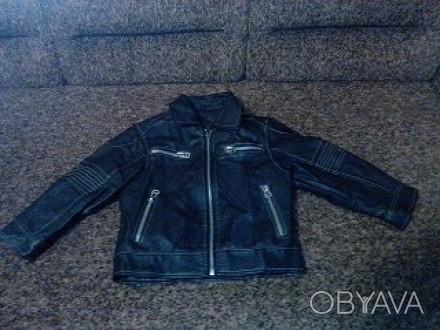 Продам курточку детскую весенне-осеннею на 3-4 года , четыре кармана на молниях-. Кам'янське, Дніпропетровська область. фото 1