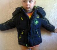 Курточки разных размеров от 1 до 3х лет. 1 Данило зимняя до 3х лет 2, 4 Зелена. Мелитополь, Запорожская область. фото 2