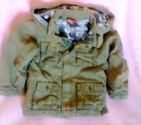 Курточки разных размеров от 1 до 3х лет. 1 Данило зимняя до 3х лет 2, 4 Зелена. Мелитополь, Запорожская область. фото 5