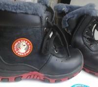 1 Ботинки B&G кожа+цигейка 26р  одевались несколько раз зима была теплая по этом. Мелитополь, Запорожская область. фото 2