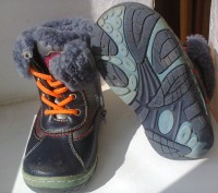 1 Ботинки B&G кожа+цигейка 26р  одевались несколько раз зима была теплая по этом. Мелитополь, Запорожская область. фото 4