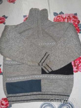 Продам свитерок на мальчика 5 - 6 лет. В хорошем состоянии. От плеча до запястья. Мелитополь, Запорожская область. фото 1