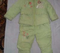Комбинезон на девочку. Описание куртки: длина от плеча до пояса-36 см, длина рук. Мелитополь, Запорожская область. фото 2