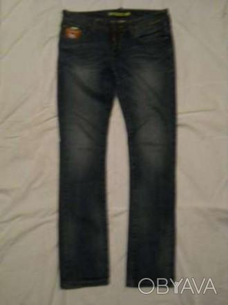 Продам джинсы подростковые в хорошем состоянии. Длина 100 см, талия 86 см.. Мелітополь, Запорізька область. фото 1