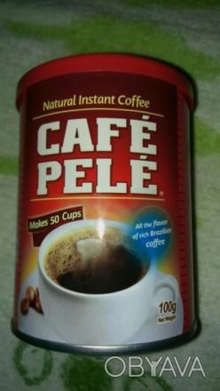 Кофе Бразилия Пеле порошковый в банках 100 грамм цена 20 грн только опт. Киев, Киевская область. фото 1