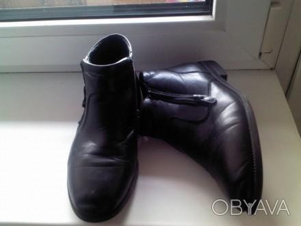 Продам ботинки для мальчика. Размер 34. Цена-250 грн.. Каменское, Днепропетровская область. фото 1