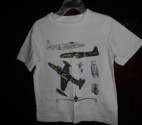1)черная футболка с рисунком на 4г.,состояние новой,ANGRY BIRDS,цена-75гр. заме. Київ, Київська область. фото 4