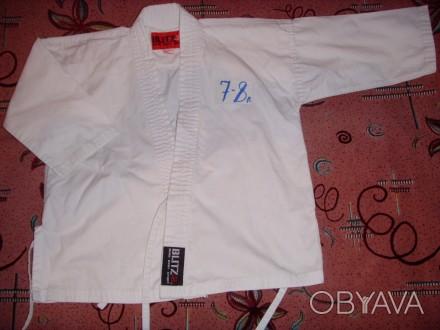 куртки кимоно  для занятий единоборствами. б/у. состояние хорошее. штаников нет. Сумы, Сумская область. фото 1