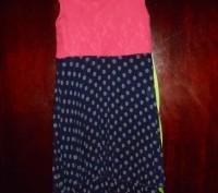 Платье на 10 лет,лиф кружево на подкладке,юбка гафре на подкладке при стирке не. Київ, Київська область. фото 3