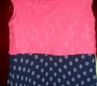Платье на 10 лет,лиф кружево на подкладке,юбка гафре на подкладке при стирке не. Київ, Київська область. фото 4