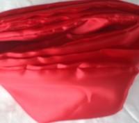 Продам нарядный атласный красный пояс ( кушак) для шаровар, вышиванки, украинско. Киев, Киевская область. фото 4