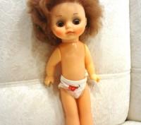 Продам красивую куколку времен СССР с моргающими глазами. Или обменяю на орхиде. Полтава, Полтавская область. фото 5