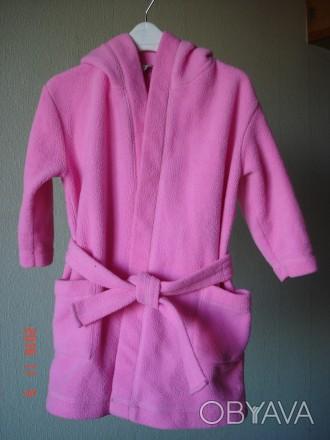 Продам теплый халатик для девочки 2-3 года X-Ceed. Длина от плечика 58 см,  дл. Черкассы, Черкасская область. фото 1