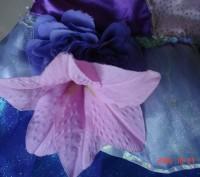 Продам очень красивое платье Русалочки Ариель для девочки 4-6лет Disney оригинал. Черкаси, Черкаська область. фото 4