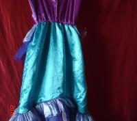 Продам очень красивое платье Русалочки Ариель для девочки 4-6лет Disney оригинал. Черкаси, Черкаська область. фото 3