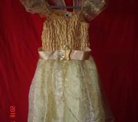 Продам карнавальный костюм для маленькой феи.  Длина от плеча до низа 70 см, д. Черкассы, Черкасская область. фото 2