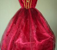 Продам карнавальное платье для маленькой феи.  Длина от плеча до низа 79 см, д. Черкассы, Черкасская область. фото 2