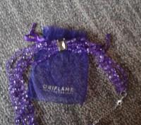 Модное ожерелье Пурпурный каскад,Ожерелье состоит из нескольких нитей бусин в ви. Бердянск, Запорожская область. фото 5